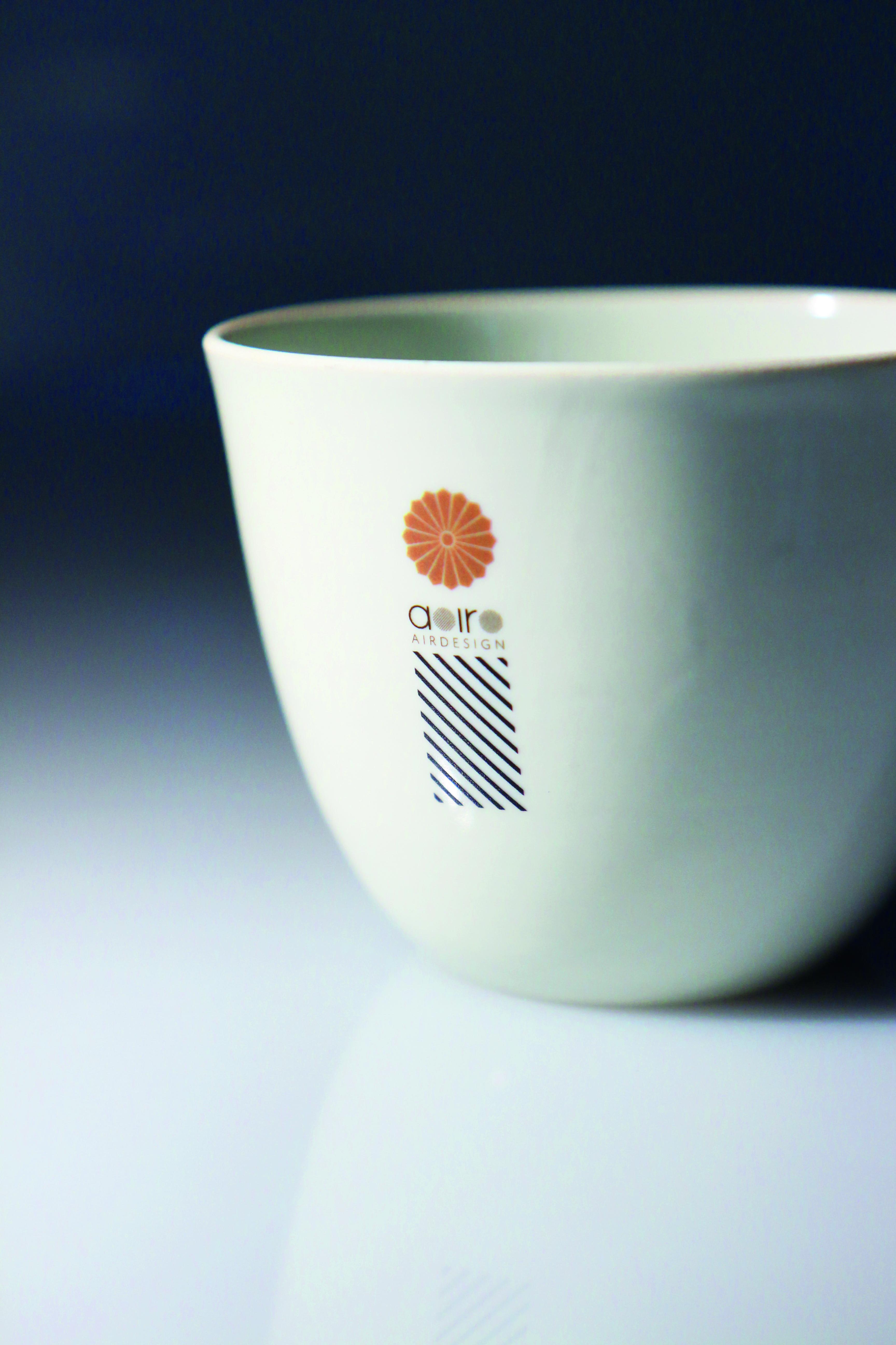Bemusterung Digitaldruck / UV-Druck / Formkörperdruck auf Tasse