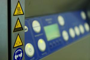 Maschine für Druckverfahren von Union Klischee