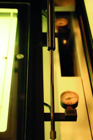 Druckmaschine von Union Klischee