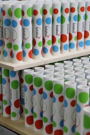 Produkte mit Digitaldruck bearbeitet von Union Klischee