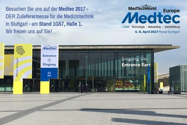 Medtec Messe 2017 - Einladung Union Klischee