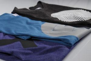 Textildruck mit Folienplot und Thermotransfer Druck