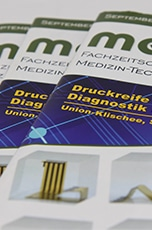 Union-Klischee in der neuen meditronic  journal