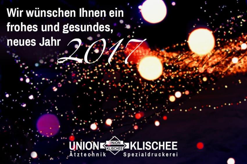 Neujahrsgruss 2017