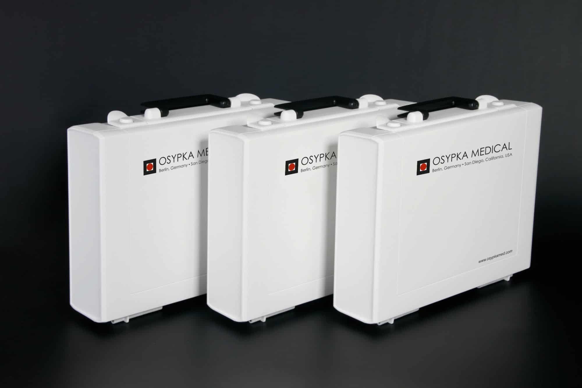 Kunststoffkoffer mit Digitaldruck und UV-Druck